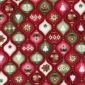 Ornaments Dark Red