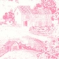 Summer Toile Pink