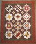 A QUILTER'S HOLIDAY Sampler Setting